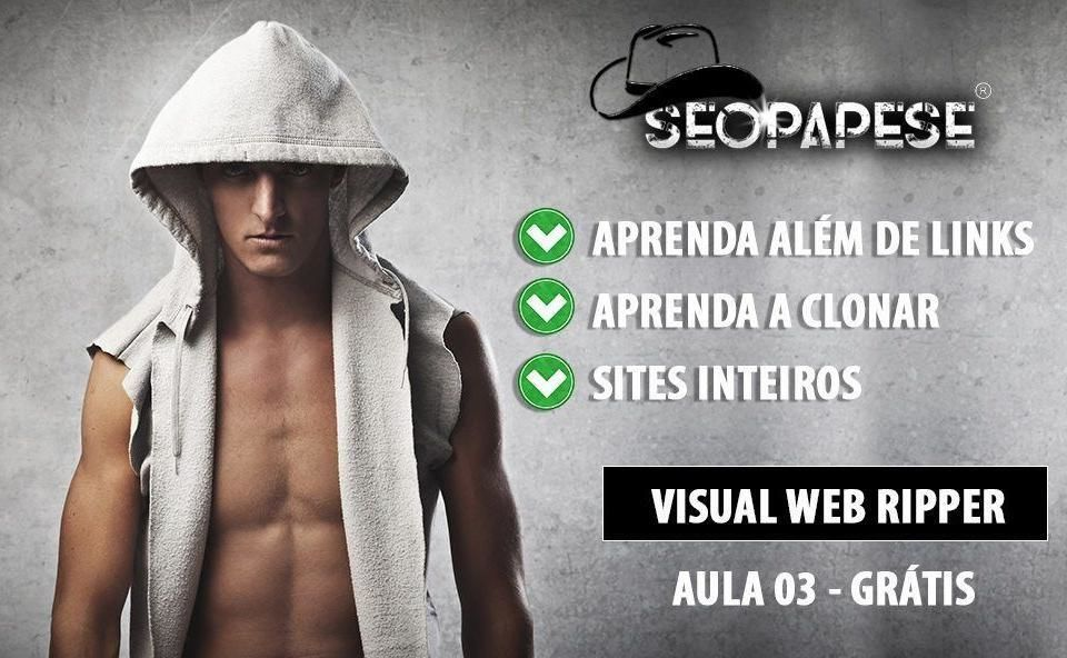 Visual Web Ripper Aula 03 - Curso SEOPAPESE