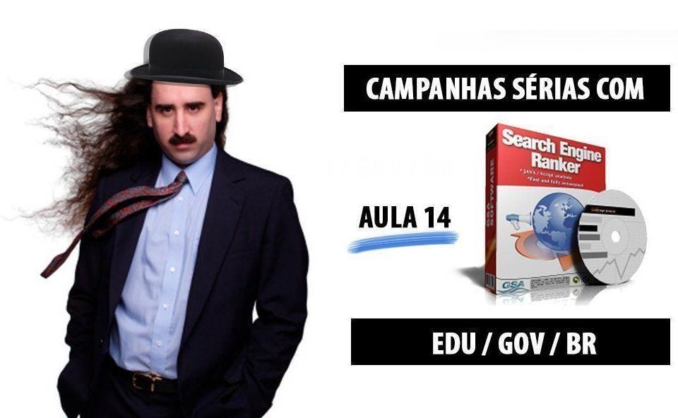 GSA Aula 14 Trabalhando com links EDU GOV BR Curso SEOPAPESE