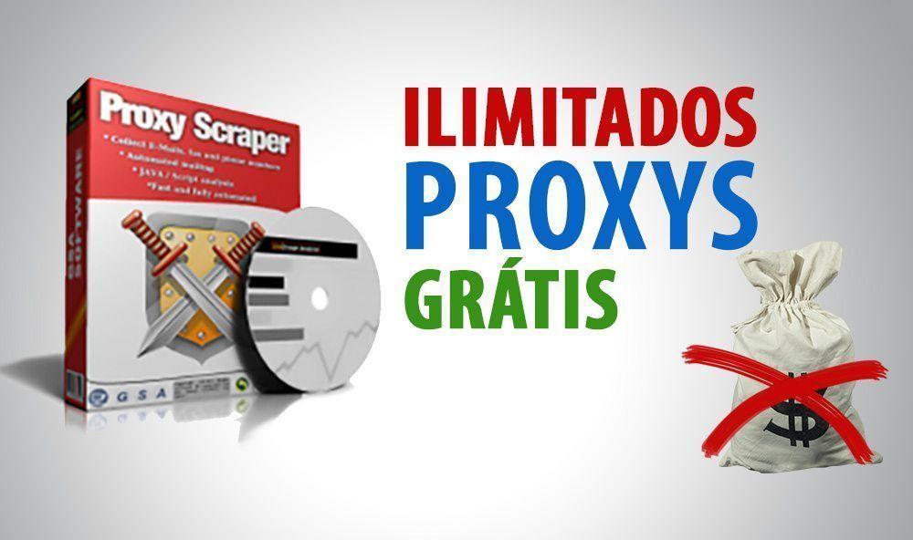 Integrar Proxy Scraper no GSA SER com Ilimitados Proxys Grátis